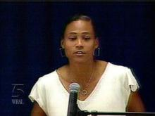 Disgraced Olympian and former UNC track star Marion Jones was sentenced Friday to six months in federal prison.