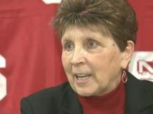 N.C. State women's basketball coach Kay Yow