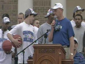 Barton College celebrates national title
