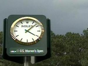 Thunderstorms have forced play to be suspended for all but one day of the U.S. Women's Open in Pinehurst.