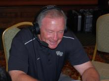 Wake Forest coach Jim Grobe
