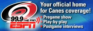 Hurricanes Coverage on The Fan 300x100