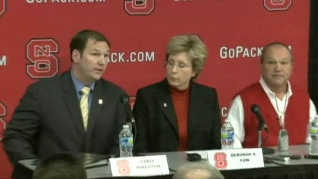 NC State basketball coach update
