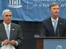 Dick Baddour, former UNC director of athletics, spoke at length Monday in a panel discussion about public records and the university's standoff with reporters during the investigation of the Tar Heel football program.