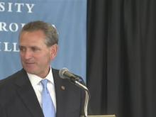 Bubba Cunningham introduced as new AD at UNC