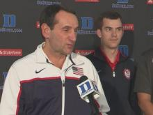 Coach K returns to North Carolina