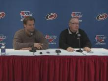 Coach, GM talk Hurricanes hockey
