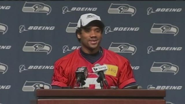 Russell Wilson talks Super Bowl