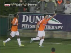 RailHawks vs. Ft. Lauderdale
