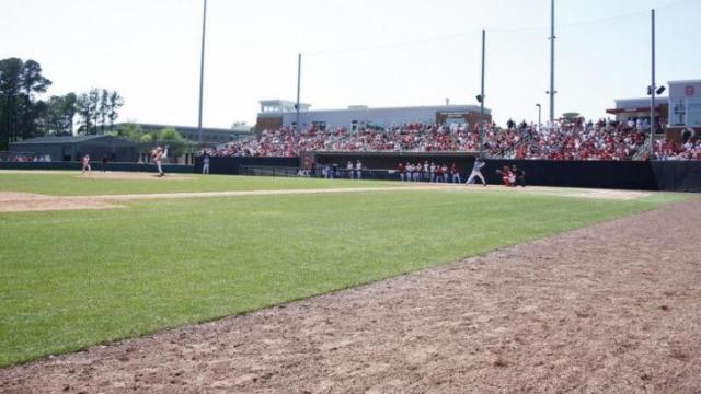 Doak Field during the UNC vs. NC State baseball game on April 17th, 2011 at Doak Field in Raleigh, North Carolina.