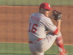 N.C. State starter Carlos Rodon allowed five hits and three runs in 6 2-3 innings.
