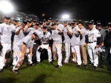 The Reno Aces beat the Pawtucket Red Sox 10-3 Tuesday night at Durham Bulls Athletic Park in the Triple-A National Championship game.