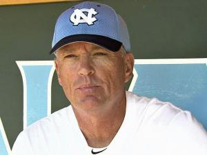 UNC baseball coach Mike Fox