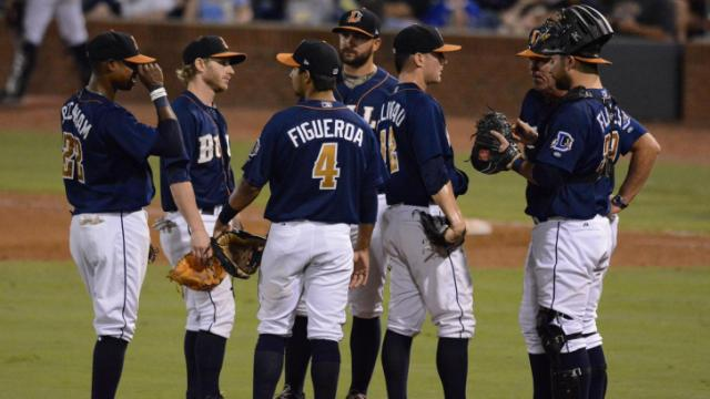 FILE: Durham Bulls vs. Pawtucket Red Sox (Sept. 10, 2013)