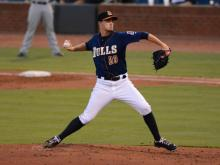 Pawtucket hung around long enough to get Durham Bulls starting pitcher Jake Odorizzi out of the game, then Brock Holt played hero for the Red Sox as they won Game 1 of the Governors' Cup Finals at Durham Bulls Athletic Park Tuesday night, 2-1.