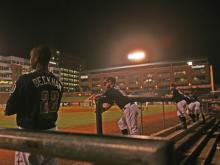 The Durham Bulls came from behind to pull out a 2-1 win over the Pawtucket Red Sox Wednesday in Game 2 of the Governors' Cup Finals at Durham Bulls Athletic Park and even the best-of-five series at one game each.