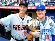 The top players from the International League and the Pacific Coast League met in Durham Wednesday to battle it out in the Triple-A All Star Game.