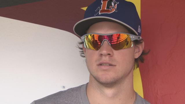 Wil Myers Pic-Rehab with Bulls