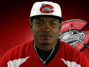 Carlos Moncrief, Mudcats outfielder
