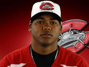 Francisco Jimenez, Mudcats pitcher
