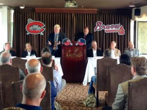 Mudcats joins Braves