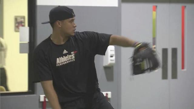Archer putting in offseason work for big league shot