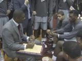Moton selected as USA basketball court coach