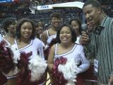 Shaw cheerleaders