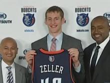 Bobcats' Zeller ready to compete