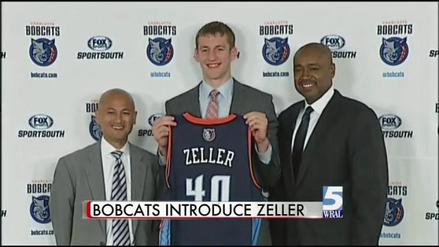 Bobcats' Zeller ready to compete