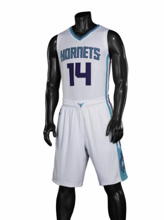 White uniform, Charlotte Hornets