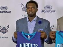 Hornets introduce draft picks Vonleh, Hairston