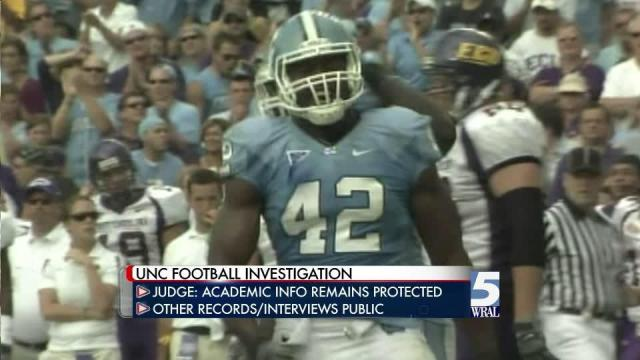 Judge: UNC must release more on NCAA probe