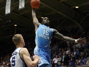 North Carolina's PJ Hairston during the Duke Blue Devils' 73-68 victory over North Carolina on Wednesday, February 13, 2013 in Durham, NC (Photo by Jack Morton).