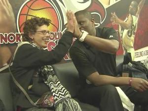 NC Central basketball has big fan thanks to unlikely friendship