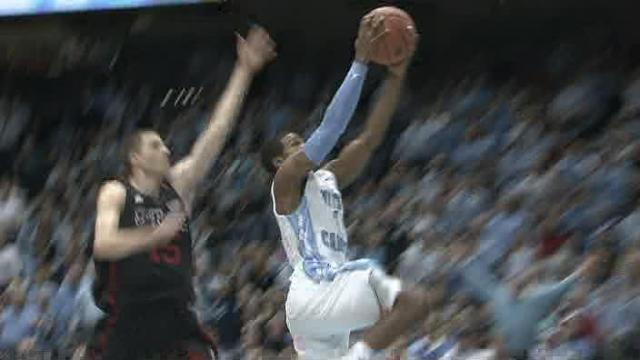Late run lifts UNC to 76-65 win over NC State