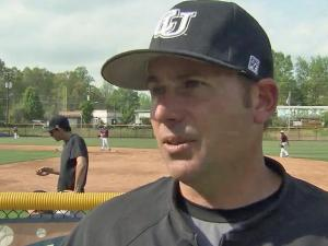 Campbell baseball coach Greg Goff