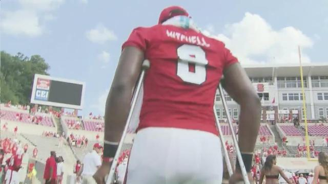 NC State faces next-man-up after Mitchell injury