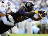 East Carolina routs UNC, 55-31