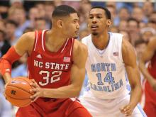 UNC opened up a big first half lead Saturday against NC State and coasted to a 84-70 win