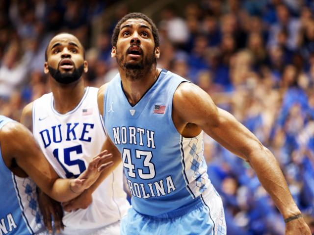 North Carolina&#039;s James Michael McAdoo during the Tar Heels&#039; game versus Duke on Saturday, March 8, 2014 in Durham, NC.  Duke defeated the Tar Heels 93-81.   <br/>Photographer: Jack Morton
