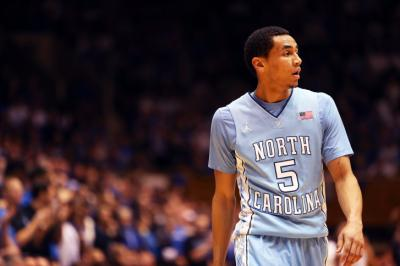 North Carolina's Marcus Paige during the Tar Heels' game versus Duke on Saturday, March 8, 2014 in Durham, NC.  Duke defeated the Tar Heels 93-81.