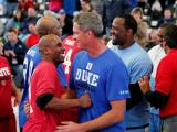 Big Three Legends unite for charity