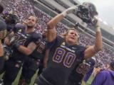 ECU celebrates after beating Virginia Tech