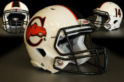 Campbell announced Wednesday that it will take the field in 2014 in newly designed football helmets.