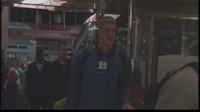 Duke arrives in Indy