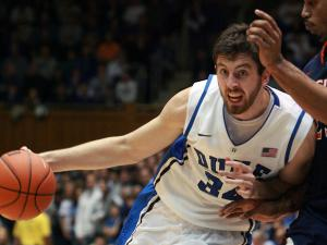 Duke fends off Virginia, 61-58