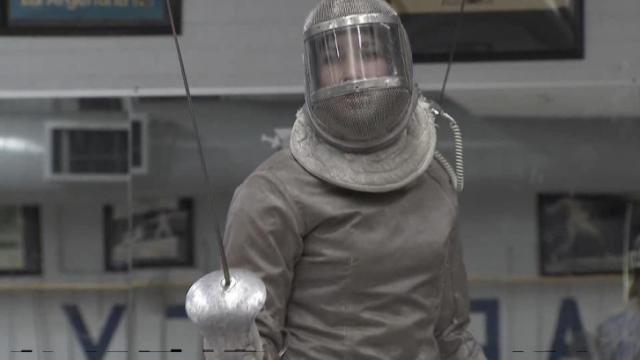 Jennings: Ward completes record fencing career