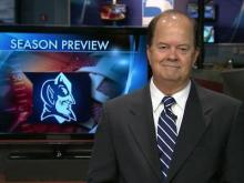 WRAL images of Duke head coach David Cutcliffe since his hire in 2007.