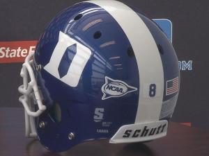 08/28: Duke football helmet